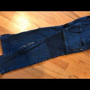 PAIGE Jeans - Paige Moto mid rise jeans.
